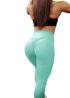 mint green gym leggings