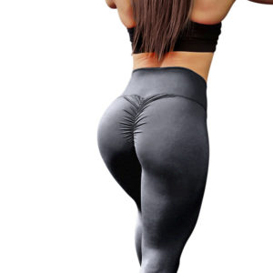 Charcoal scrunch leggings
