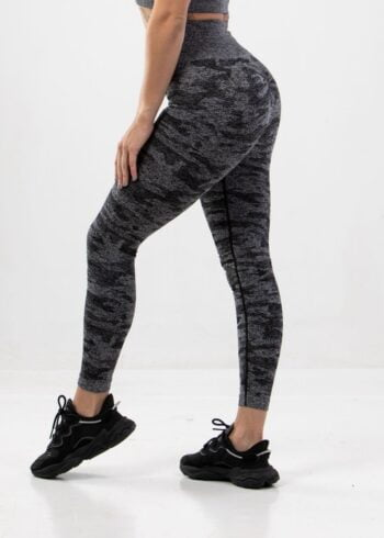 camo black leggings